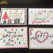 聖誕節名信片